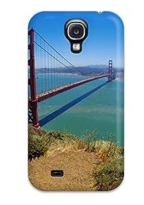 Durable Protector Case Cover With Golden Gate Bridge, San Francisco Hot Design For Galaxy S4
