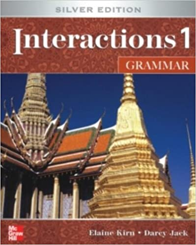 Book Interactions Level 1 Grammar Student Book plus Key Code for E-Course