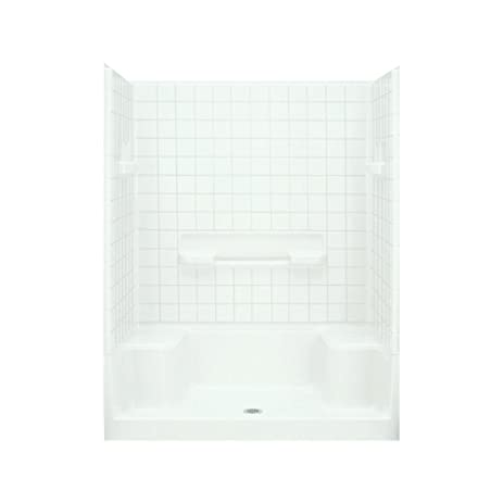 Sterling Plumbing 62040100-0 Advantage Shower Kit, 60-Inch x 34 ...