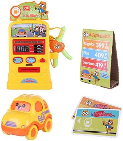 ZUJI 6pcs Gasolinera Juguete Simulación Bomba de Gasolina Juego de Imitación para Niños: Amazon.es: Juguetes y juegos