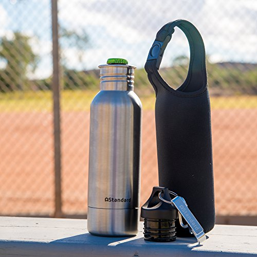 Beer Bottle Cooler With Free Insulated Bottle Carrier