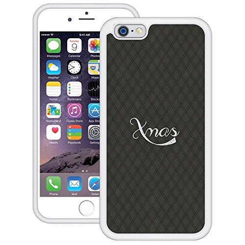 Weihnachten Xmas | Handgefertigt | iPhone 6 6s (4,7') | Weiß TPU Hülle
