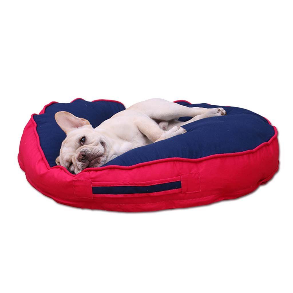 The Dog's Bed, Plush Memory Foam Waterproof Dog Beds, Eases Pet Arthritis&Warm Pet Mattress, Washable Covers,Cotton Fabrics,E,L