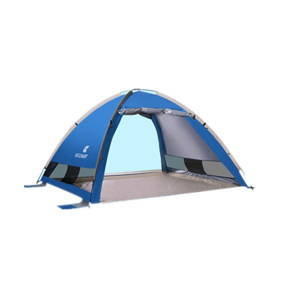 KYAWJY ビーチテントとキャンプテント、簡単なセッティングとアウトドアポータブルテント、サンシェルター   B07M767VTL