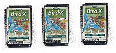 Dalen BN4 Bird-X Net with 5/8-Inch Mesh, moqbgp 3 Pack (14 ft x 45 ft)