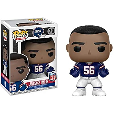 Funko POP NFL: Lawrence Taylor (Giants Throwback) Collectible Figure: Funko Pop! Sports:: Toys & Games