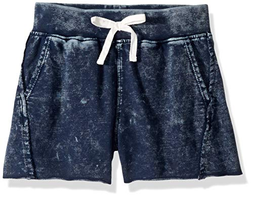 - Splendid Girls' Big Baby French Terry Mineral wash Short, Washed Blue, 12