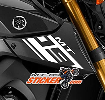 Yamaha mt 09 custom intake scoop cover stickers and decals includes both side mt09