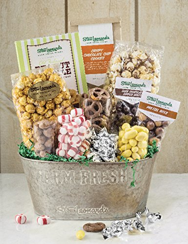 Sweet Treats Plus Gourmet Gift Basket from Stew Leonard's Gifts