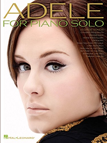 Hal Leonard Adele For Piano Solo (Set Fire To The Rain Sheet Music)