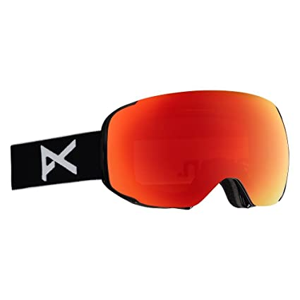 0a793520a06 Anon Men s Asian Fit M2 Fog Free Magnetic Lens Ski Snow Goggle with MFI Mask