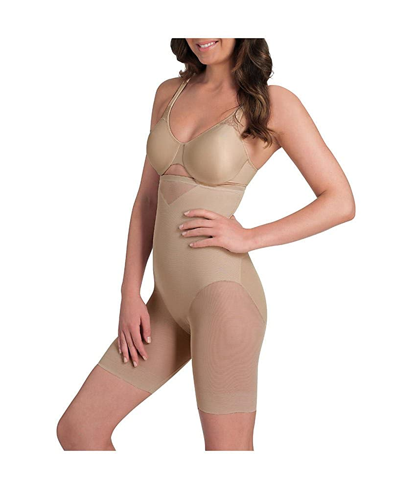 8577148b7b5 Miraclesuit Sexy Sheer Extra Firm Control High-Waist Thigh Slimmer at  Amazon Women s Clothing store