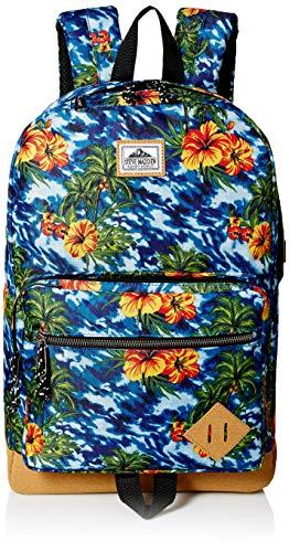 - Steve Madden Floral Dome Backpack, Blue