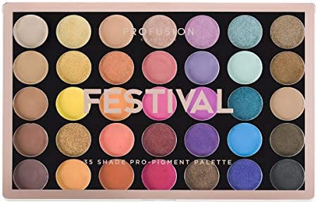 Profusion Cosmetics 35 Shade Eyeshadow Palette Collection