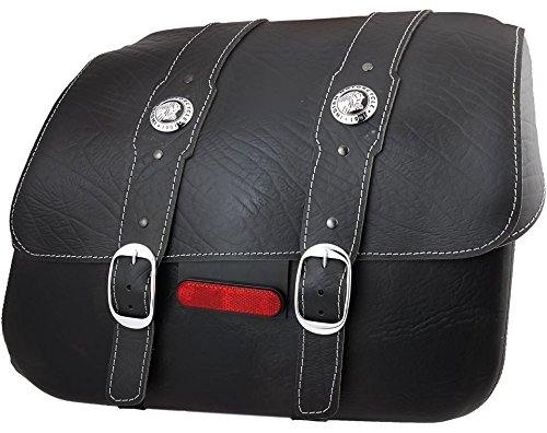 Indian Scout Genuine Leather Saddlebags Black - 2880234-01 for sale  Delivered anywhere in USA