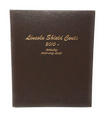 Dansco US Lincoln Shield Cent Coin Album 2010 to Date with Proof (Cents Blank)