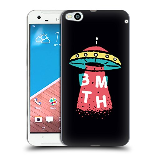 Official Bring Me The Horizon UFO Key Art Soft Gel Case for HTC One X9