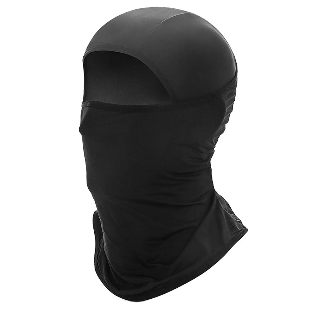 VORCOOL Protection UV Visage Complet Masque Coupe-Vent Respirant Capuchon Chapeau pour Le Cyclisme Sports de Plein air Noir