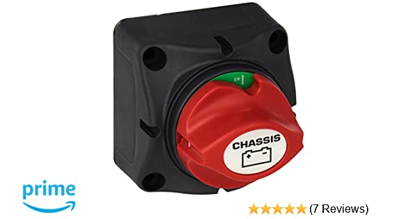Amazon com: ParkPower 701CHRV Chassis Battery Master Switch