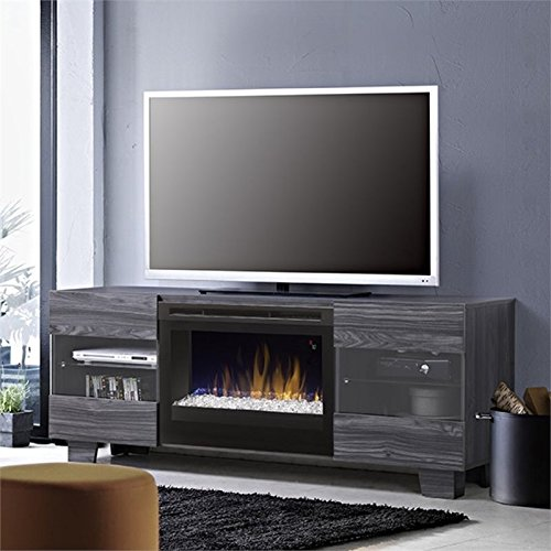 Dimplex Max Fireplace TV Stand in Carbonized