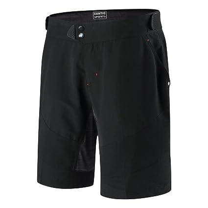 029d0caa5ab7 Santic Men s MTB Cargo Shorts Loose Fit Leisur Cycling Shorts Anti-Pilling  Riding Half Pants