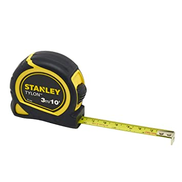 Stanley 6992705 Pocket Tape, Dual Scale, 3m Length x 12.7mm Width: Tape Measures: Amazon.com: Industrial & Scientific