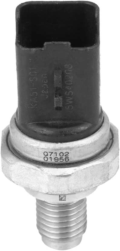 Fuel Rail High Pressure Sensor for Nissan Note MPV Qashqai SUV 2007-2012 Car Fuel Pressure Sensor