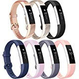 Vancle Replacement Bands with Metal Buckle for Fitbit Alta HR and Fitbit Alta