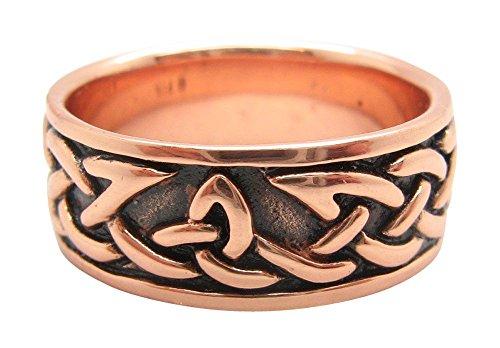 Copper Celtic Knot Ring CRI1358 - 5/16