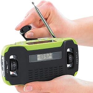 "Radio portable solaire & dynamo ""SOL-1510"""