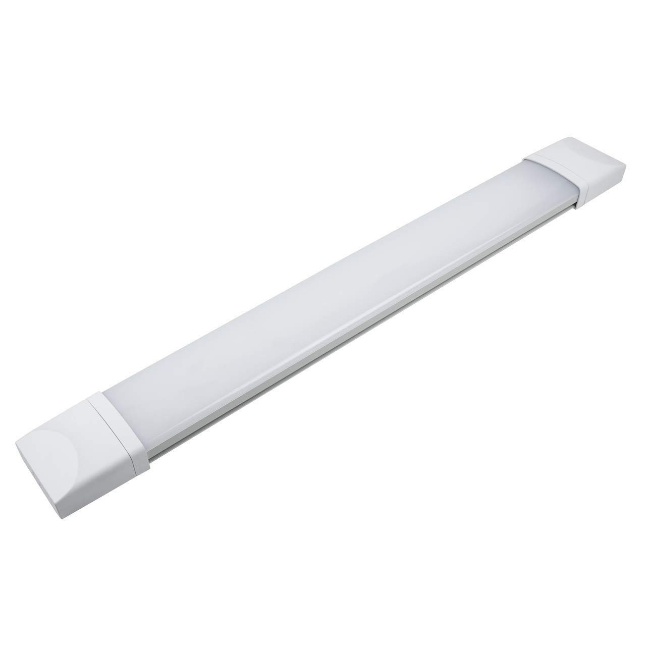 AUROLITE IP65 2FT 60CM 18W LED BATTEN SLIM LUCI DA SOFFITTO TRI-PROOF, 6000K, 1400LM, ANTI CORROSIVI LUCI DA SOFFITTO, LUCI DA SOFFITTO IMPERMEABILI, LUCI DA SOFFITTO DA INTERNO / DA ESTERNO