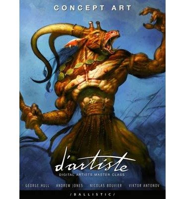 Download D'artiste Concept Art: Digital Artists Masterclass (D'Artiste) (Paperback) - Common PDF