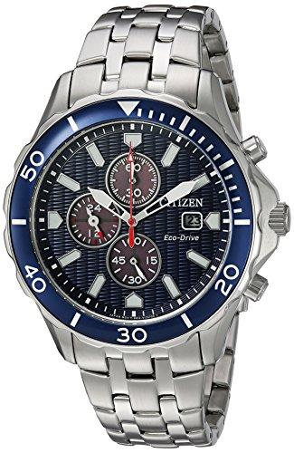 Citizen-Mens-Eco-Drive-Quartz-Stainless-Steel-Casual-Watch-ColorSilver-Toned-Model-CA0560-59L
