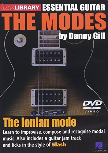The Modes - Ionian: Slash For Guitar Dvd Guitar Lick Library