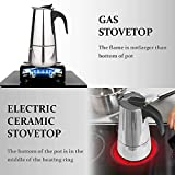 Stovetop Espresso Maker with Classic and Rich Brews