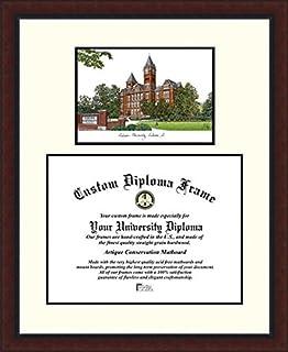 Amazon ut austin diploma frame with artwork in classic black campus images auburn university legacy scholar diploma frame solutioingenieria Image collections