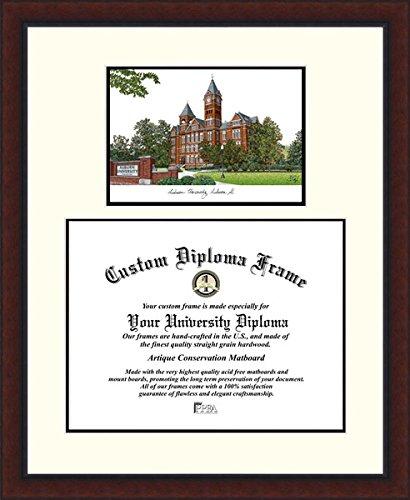 Campus Images AL992LV Auburn University Legacy Scholar Diploma Frame, 13