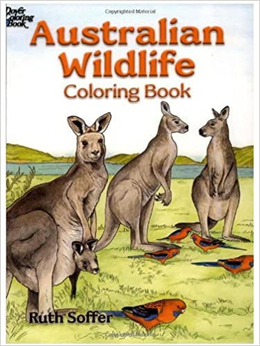 Australian Wildlife Coloring Book: Ruth Soffer: 9780486451671 ...