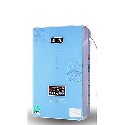 LJ Calentador de agua eléctrico Calentador de agua instantáneo Calentador de agua sin tanque para baño