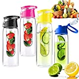 Forfar Infuser My Sport 800ml Fruit Juice Cup Drinking Detox