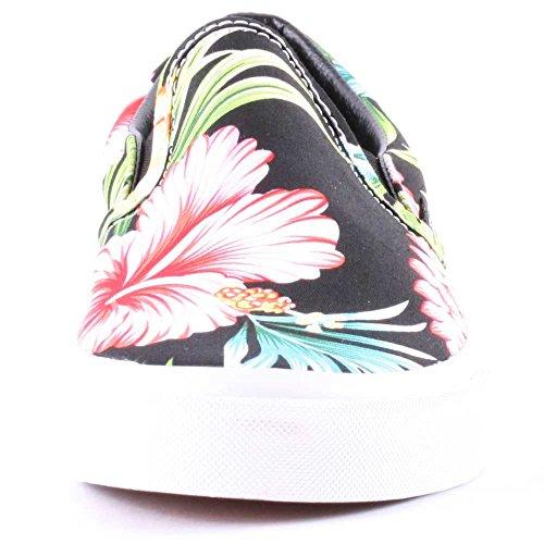 Vans CLASSIC SLIP HAWAII Chaussures Mode Sneakers Femme Noir