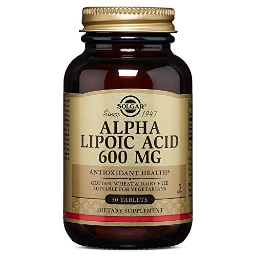 Solgar - Alpha Lipoic Acid 600 mg, 50 Tablets