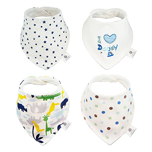 Bandana Absorbent Cotton Smiling Baby