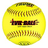1-Dozen-Evil-Ball-ASA-12-Softballs-44cor375-Compression-MP-EVIL-ASA-Y-2-HOT-Technology