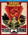 Cover Image for 'Sergei Eisenstein: Double Feature (Battleship Potemkin & Strike)'