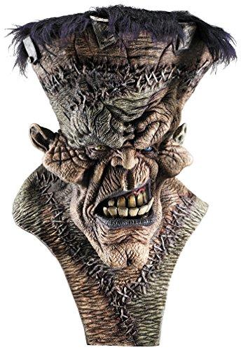 Frankenstien Mask (Rubie's Costume Co Men's Freak-N-Monster Deluxe Latex Mask, Brown, One Size)
