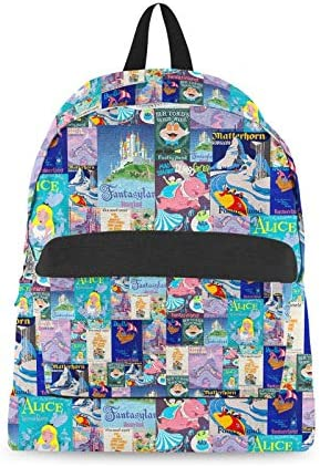 Fantasyland Disney Inspired Backpack All-Over-Print