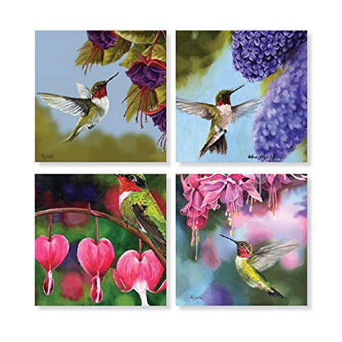 Hummingbird Coaster - Set of 4