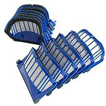 CF Clean Fairy 10 x Aero Vac Blue Filter for iRobot Roomba 500 600 Series 536 550 551 620 650 Vacuum Cleaner Accessory
