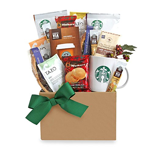 California Delicious Give Thanks with Starbucks (Starbucks Gift Baskets)